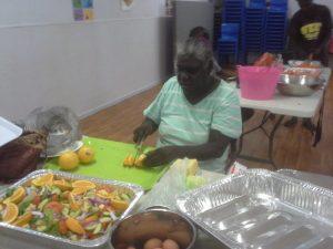 Mowanjum Christmas party 2015 preparation